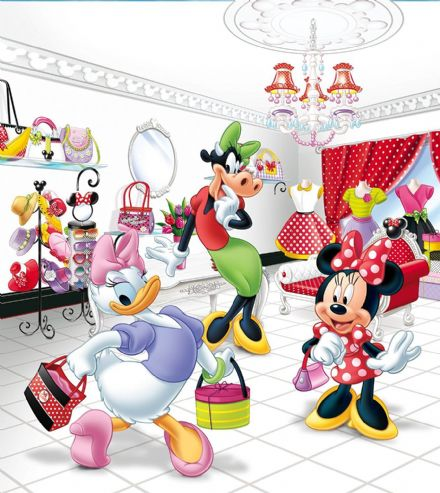 "Disney bedroom wallpaper ""Minnie Mouse Disney"""